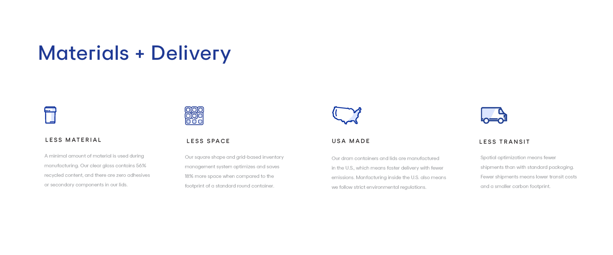 SE Landing Page Materials Delivery
