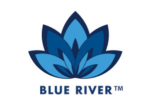 Logo blue river